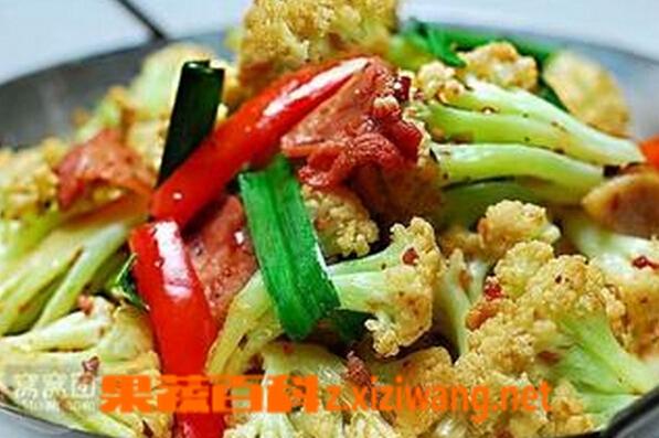 果蔬百科如何烧花菜